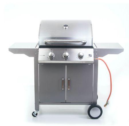 G21 Plynový gril Oklahoma, BBQ Premium Line 3 hořáky + zdarma redukční ventil
