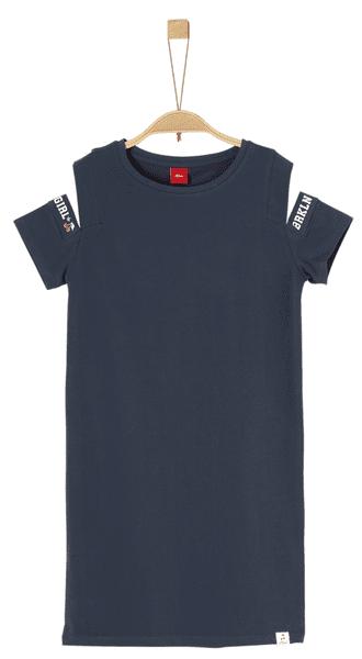 s.Oliver dívčí šaty 164 modrá