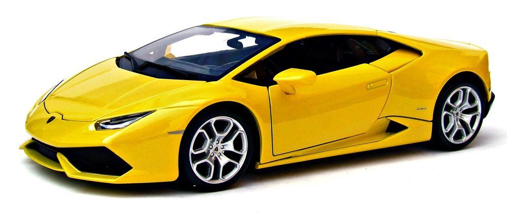 BBurago Lamborghini Huracan 1:18 - žlutá