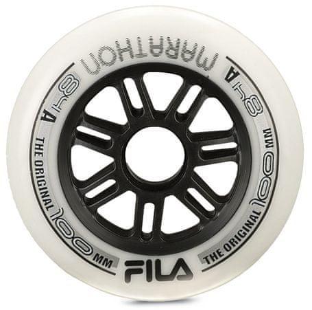 FILA Wheels 100Mm/84A White