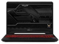 Asus prenosnik TUF Gaming FX505GD-BQ112 i5-8300H/8GB/SSD256GB/GTX1050/15,6FHD/FreeDOS (90NR00T2-M02300)