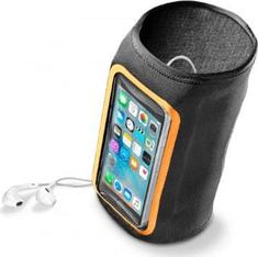 CellularLine športna torbica ARMAND FLEX za telefon, nadlahtna, črna
