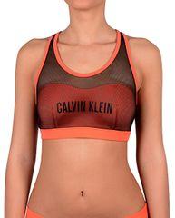 Calvin Klein Sport-bikinifelsőBralette KW0KW00236 Hot Coral