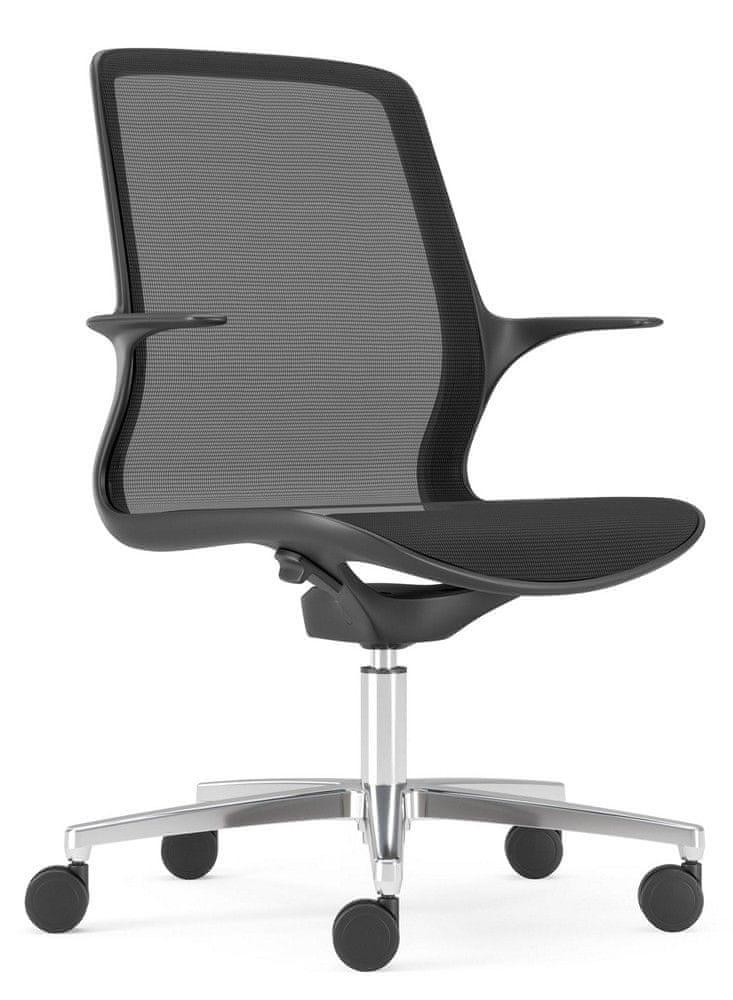 Antares Kancelářská židle Grace černá