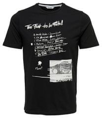 ONLY SONS Pánske tričko Einar Camp Ss Fitted Tee Black 364169c7dbc