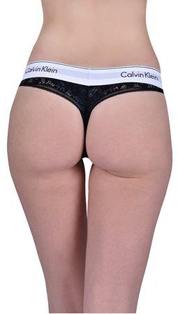 fe0e870a259 Calvin Klein Dámské kalhotky Thong QF4959E-001 (Velikost S)