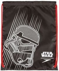 Speedo Wet Kit Bag Junior Black/White/Risk Red