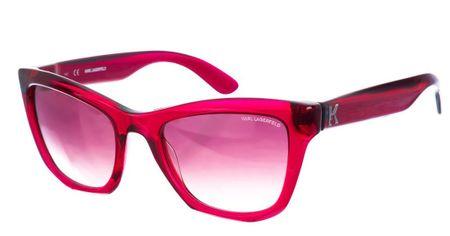 Karl Lagerfeld dámské červené slnečné okuliare