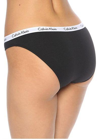 Calvin Klein Komplet majtek damskich QD3588E -999 CZARNY / BIAŁY / SZARY