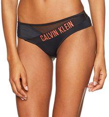 Calvin Klein Bikini alsóMesh Hipster-HR KW0KW00173-092 Black/Hot Coral