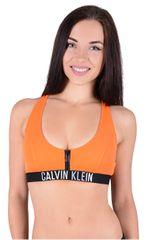 864ccc40d Calvin Klein Sport ové plavková podprsenka ZIP Bralette RP KW0KW00206 802