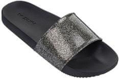 Zaxy Női papucsSnap Slide Glitter Fem 82440-90288 Glitter Black