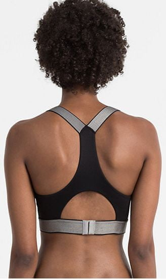 Calvin Klein Biustonosz sportowy Bralette QF4053E-001 czarny