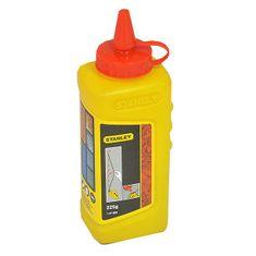 Stanley kreda označevalna rdeča, 225 g, (1-47-804)