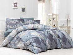 BedTex Obliečky Mosaic Béžové 200x220 / 2x 70x90 cm