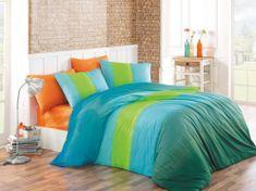 BedTex Povlečení Colorful Modré 140x200 / 70x90 cm