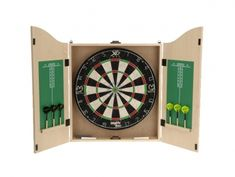XQMax Darts Kabinet Michael van Gerwen - Light Oak