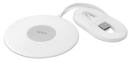 EPICO SLIM WIRELESS PAD 10 W/7,5 W/5 W, fehér