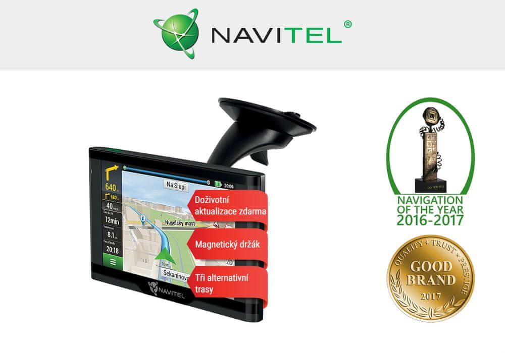 Navitel E500 MAGNETIC Lifetime