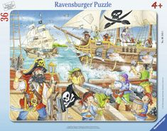 Ravensburger Útok pirátů 36 dílků