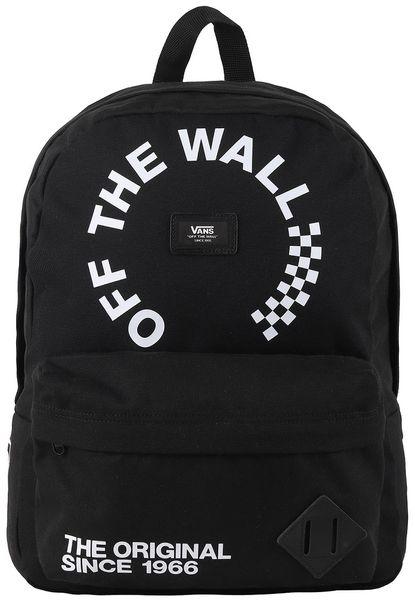 Vans Mn Old Skool II Backpack Black White Che Os 78437a74bd5