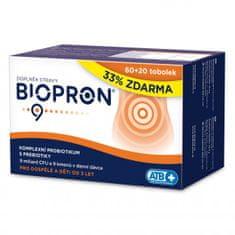 Biopron Biopron9 60 tob. + 20 tob. ZDARMA