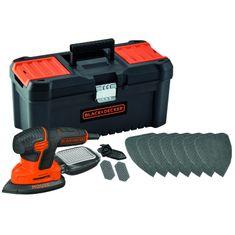 Black+Decker vibracijski brusilnik Mouse 120W (KA2000KA10)