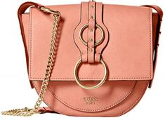 Guess Dixie Crossbody Flap Coral női crossbody táska d62a41d964