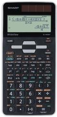 Sharp kalkulator ELW506TGY, tehnični, 640 funkcij, 4-vrstični, črn/siv