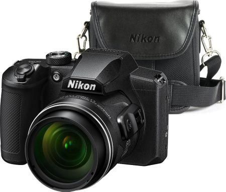 Nikon Coolpix B600 Black + originální pouzdro ZDARMA!