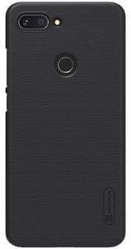 Nillkin Super Frosted Black Hátlapi tok a Xiaomi Mi 8 Lite számára 2441853