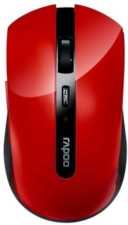 Rapoo 7200P, 5G bezdrátová optická myš červená