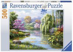 Ravensburger Kilátás a tóra 500 darabos