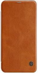 Nillkin ovitek Qin Book Brown za Xiaomi Redmi Note 6 Pro 2441597
