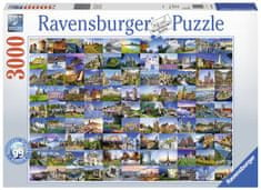 Ravensburger Európa 99 gyönyörű látnivalója 3000 darabos