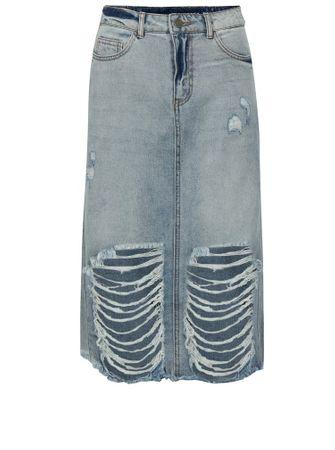 Noisy May modrá džínová sukně Paige M
