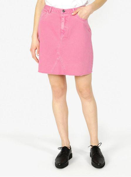 55c6ac35e651 Vero Moda růžová džínová sukně s kapsami Carolyn L