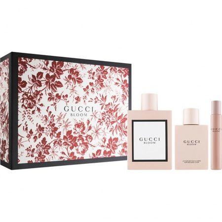 Gucci Bloom - EDP 100 ml + testápoló 100 ml + EDP 7,4 ml