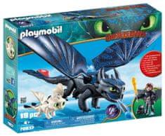 Playmobil Viki in Brezzobi z malim zmajem 70037