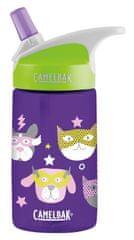 Camelbak Eddy Kids steklenička, 0,4 l, Heroes, vijolična