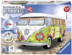 Ravensburger Autobus Volkswagen T1 Hippie 162 puzzli