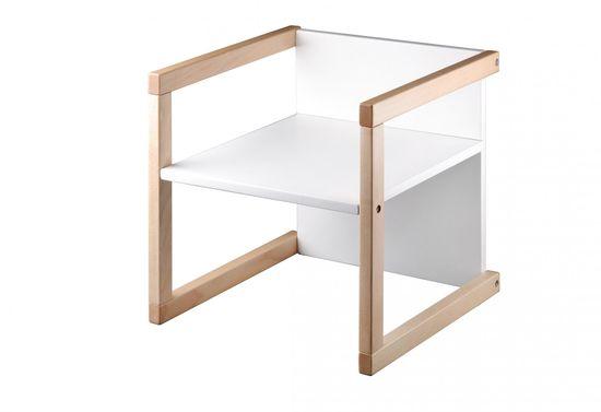 Wood Partner Dětská židle WENDY 3v1 natur