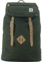 The Pack Society unisex ruksak zelena