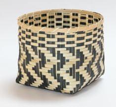 Kaemingk košara Bamboo, 29x21cm, naravna/črna