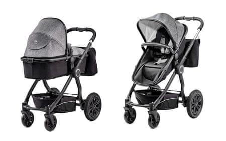 KinderKraft VEO 2v1 black/grey