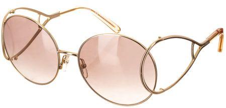 Chloé dámské růžové sluneční brýle