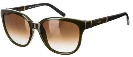 Chloé dámské tmavě zelené sluneční brýle