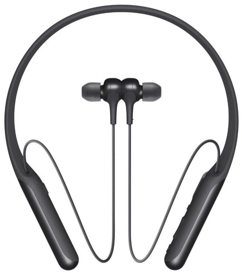 Sony WI-C600N bezdrátová sluchátka, černá