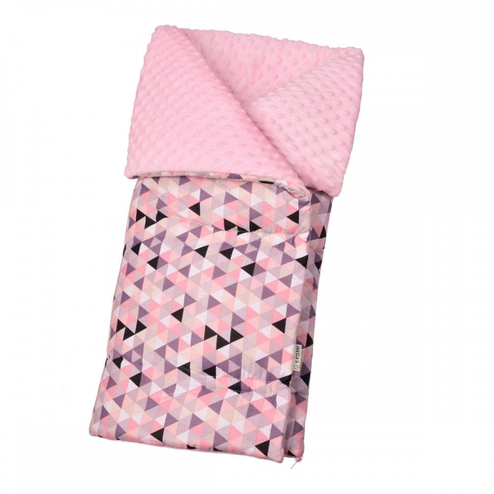 T-Tomi Fusak triangles pink