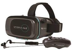 Retrak VR Headset Utopia 360 s BT ovladačem a sluchátky ETVRCB